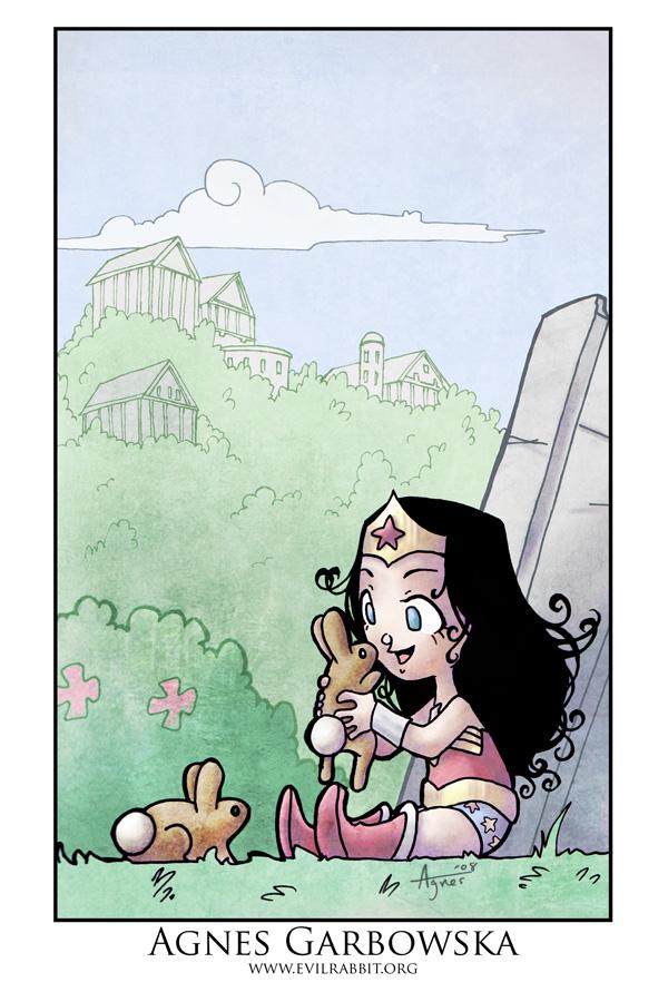 Wonderful WonderWoman by AgnesGarbowska
