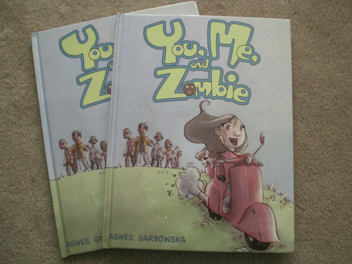 You, Me, and Zombie The Book