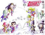 JLA Hero Initiative Cover