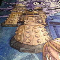 Doctor Who Process Art