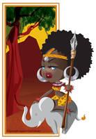 Little Miss Tribal by AgnesGarbowska