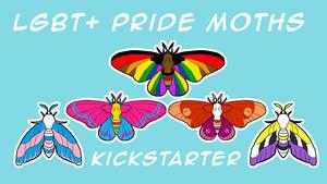 LGBT Pride Moth Kickstarter
