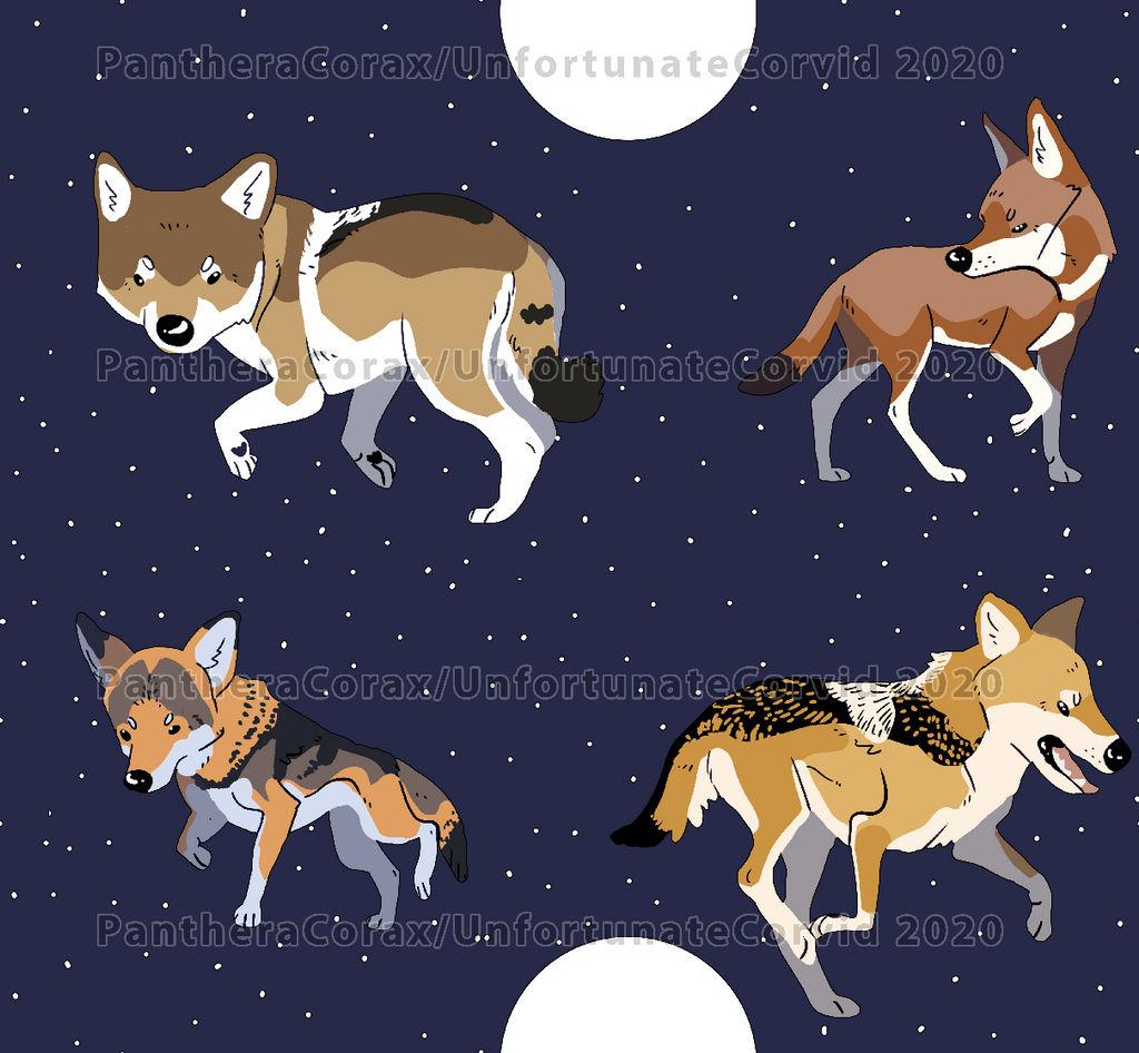 Wolf Moon Star Wallpaper By Unfortunatecorvid On Deviantart