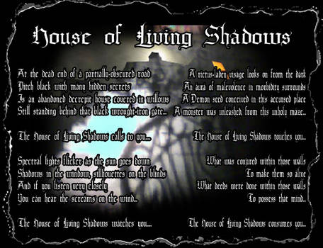 House of Living Shadows