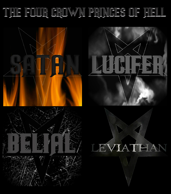 The Four Crown Princes Of Hell By Dblackthorne On Deviantart
