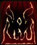 Black Flame Jack O' Lantern