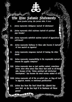 The Nine Satanic Statements