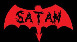 SATAN logo design