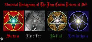 Elemental Pentagrams
