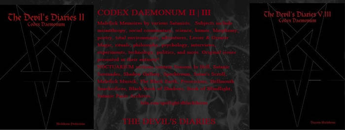 Codex Daemonum II,III