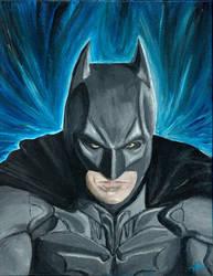 Batman by hannahash