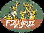 F2U MLP 6 Base Set!