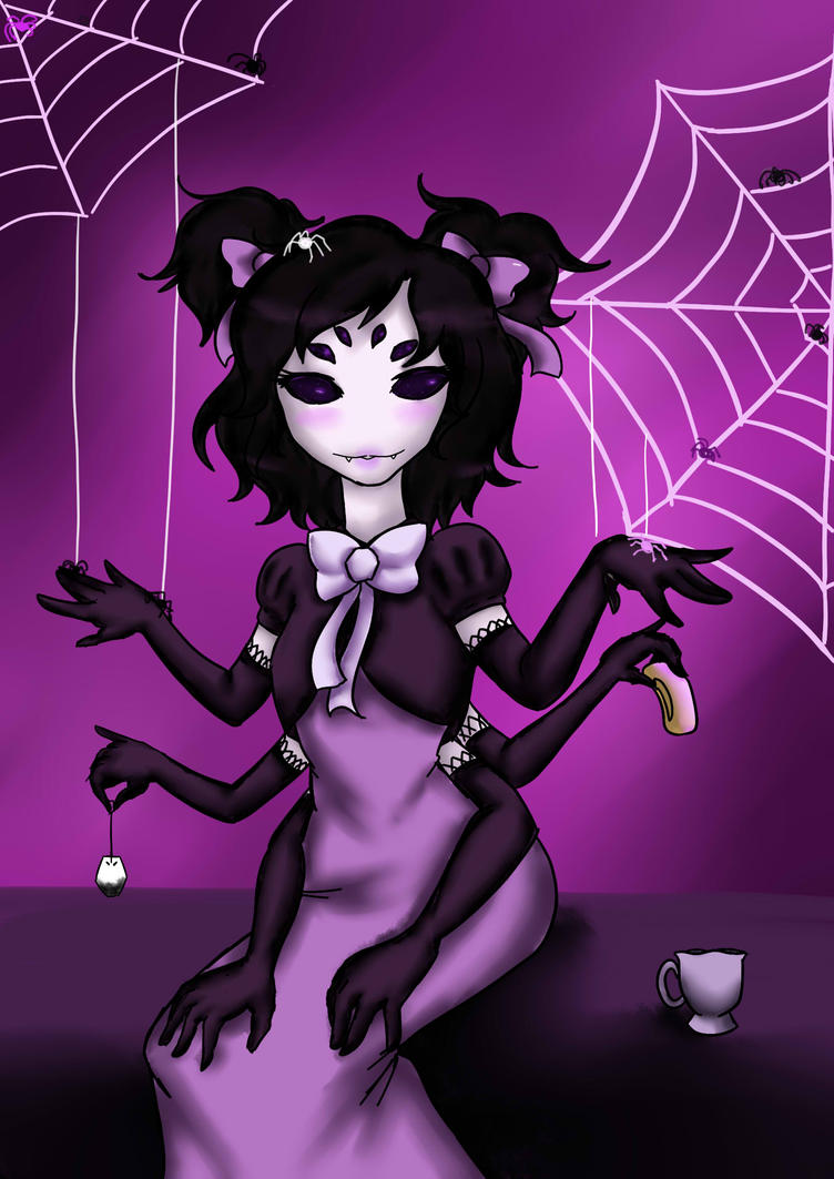 Muffet glamour version by NailahOtter