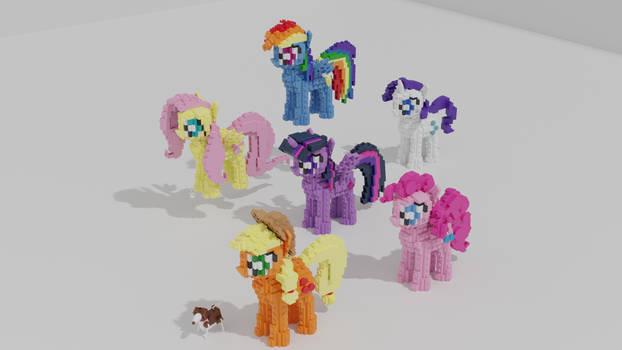 Lego Mane Six