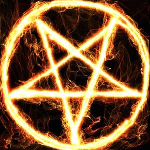 Burning Pentagramm