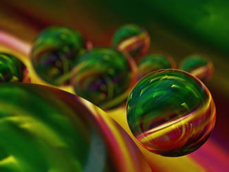 Eight Spheres by zeropainter