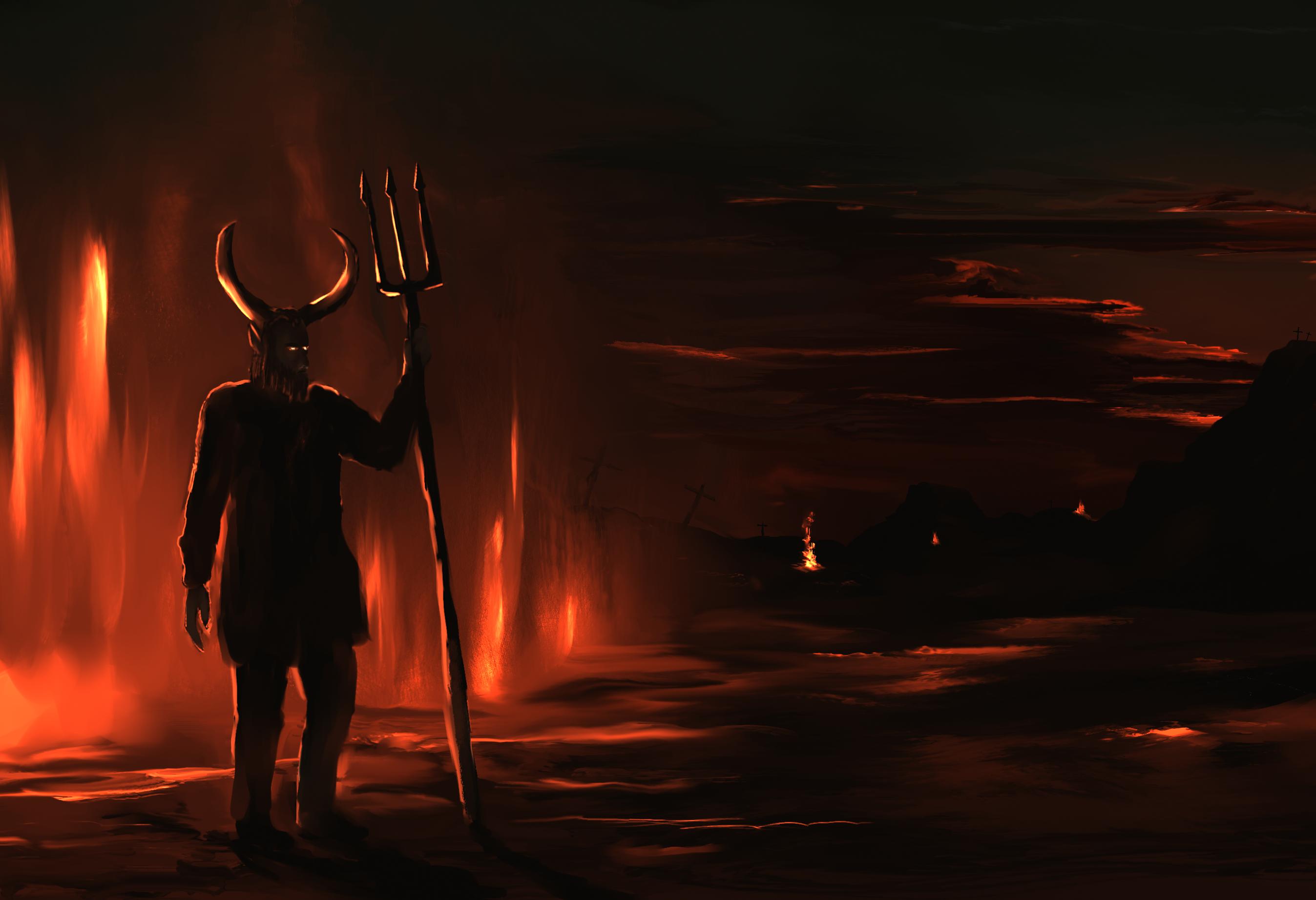 Land of the burning sand