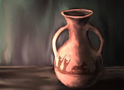 Vessel, ancient egypt