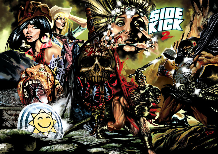 Sidekick 02 Cover
