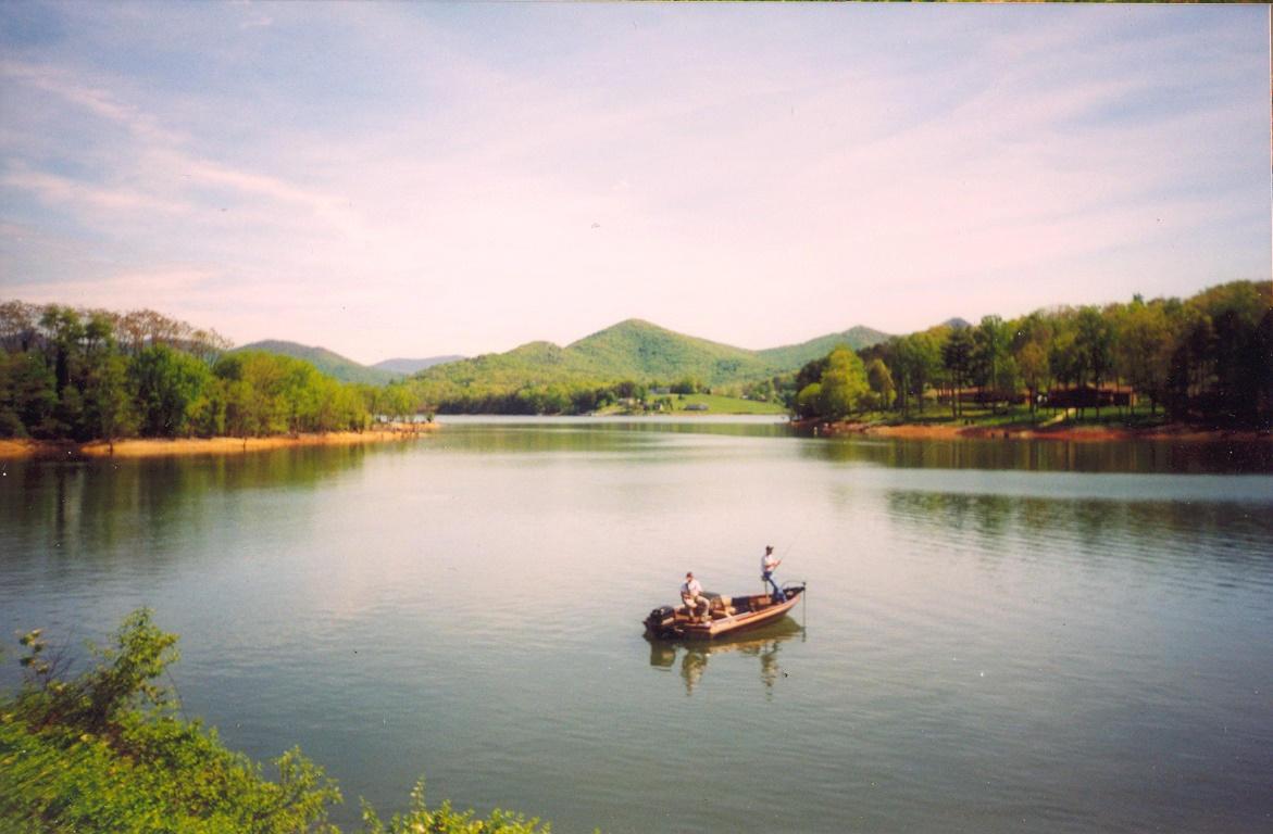 fishing on lake chatuge by uberbechin on deviantart