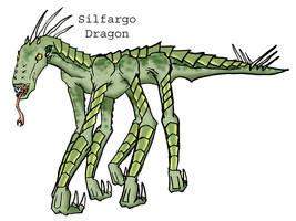 Silfargo Dragon by CarrionTrooper