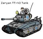 Zaryan TT-43 Tank