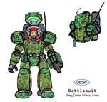 UESF Battlesuit