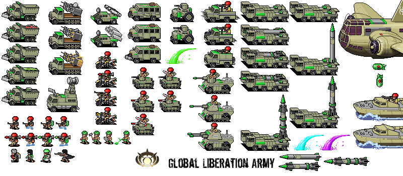 Pixel Global Liberation Army