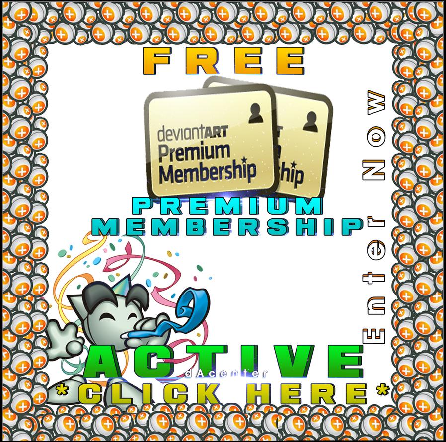 Giving Away FREE Premium Memberships by dAcenter