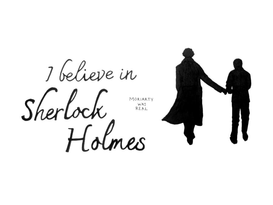 Believe in Sherlock 3 by saltylime