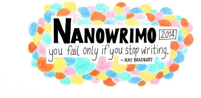NaNoWriMo 2014 facebook cover