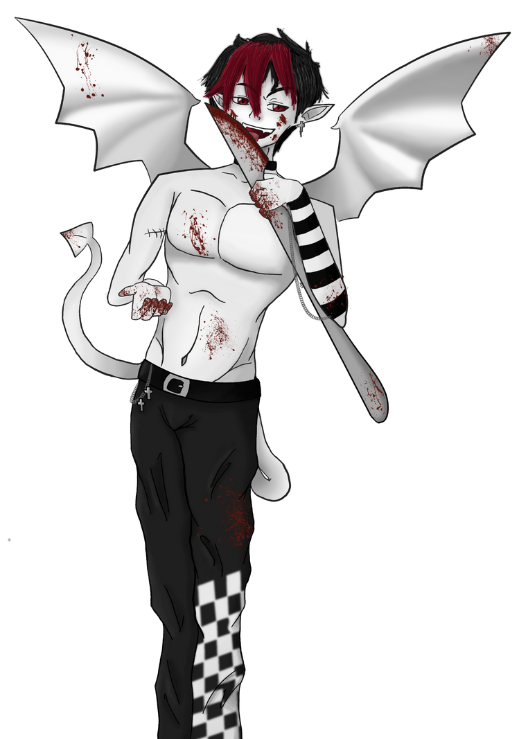 Demon Bishy (Blood) by maybirdfan