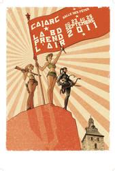 Cajarc Comics Festival Poster