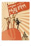 Cajarc Comics Festival Poster by lao-wa