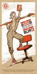Comix Buro Greeting Card 2008 by lao-wa