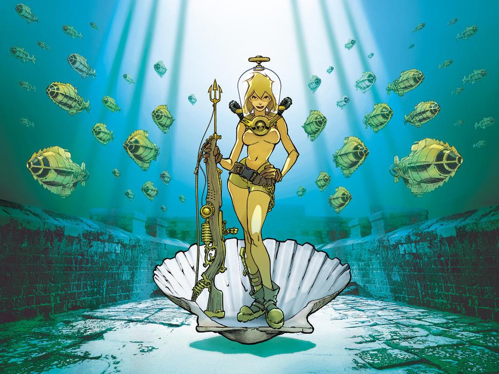Quai des Bulles 2006 poster by lao-wa