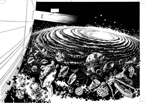 Infinity 8 : pgs 16-17 lineart