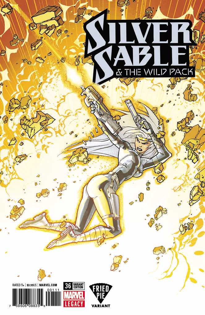 CB5828 SILVER SABLE WILD PACK #36 Marvel Comics VF//NM 2017