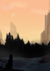 Forest Fox by viloka