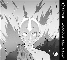 Legend Of Aang -  Fan Art by viloka
