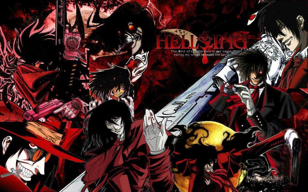 hellsing manga personajes: