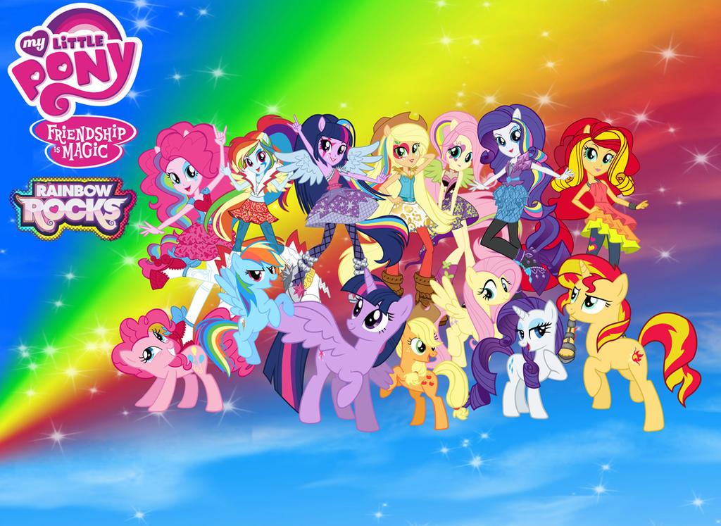 My Little Pony Equestria Girls Rainbow Rocks By TabbyKat32
