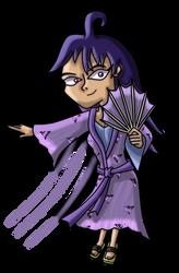Kimono Robin by LightningRod728