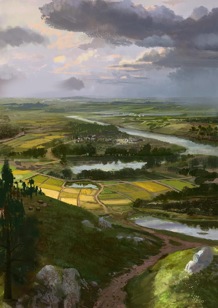 landscape by mingrutu