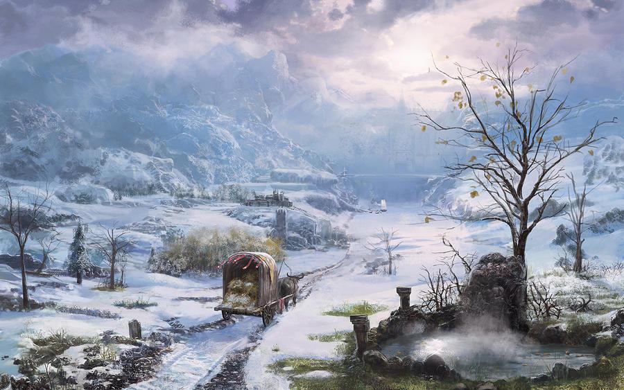 Snow country by mingrutu