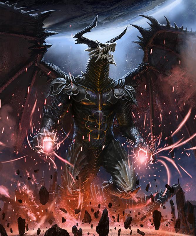 dragon by mingrutu