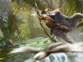 Elf archer by mingrutu