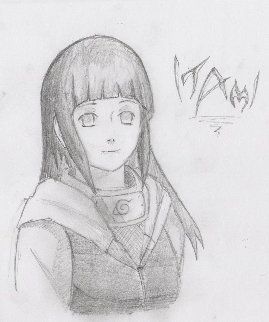 Hinata Hyuga by Itami-Tan