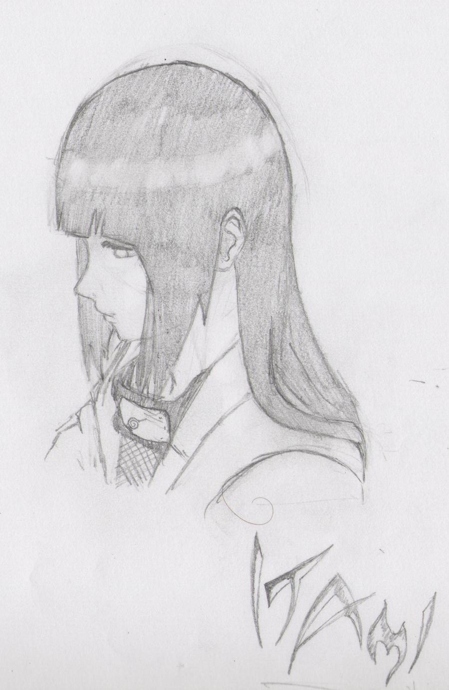 Sad Hinata by Itami-Tan