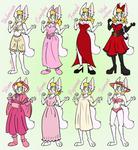 Lusy's wardrobe